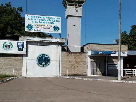 Las cárceles de Caldas no cuentan con casos de COVID-19