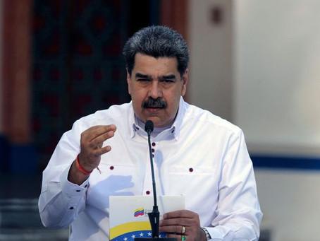 """Maduro dice que reforzó control fronterizo, por """"aumento de casos de COVID en Colombia"""""""