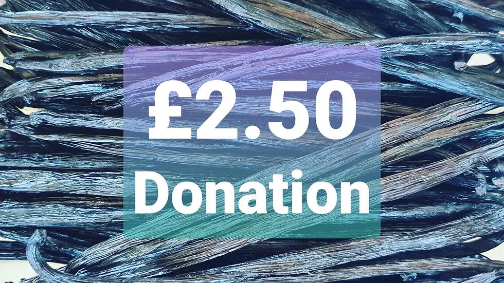 £2.50 Donation