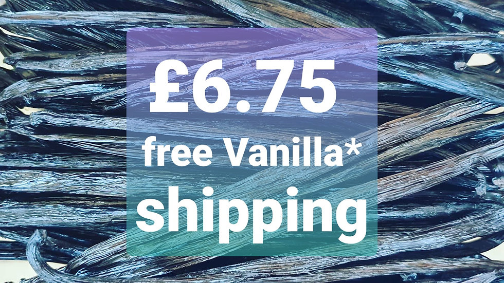 Free Vanilla* Shipping ONLY