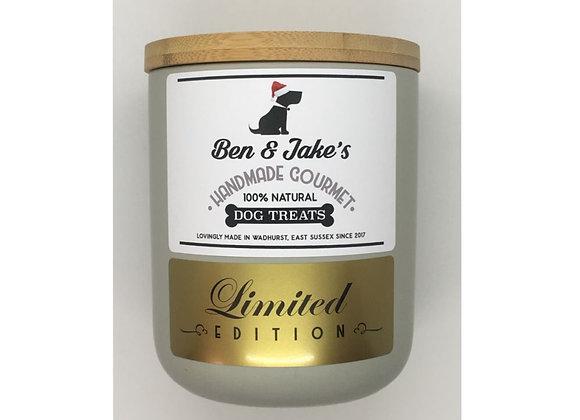Limited Edition Ceramic Jar (Light Gray)