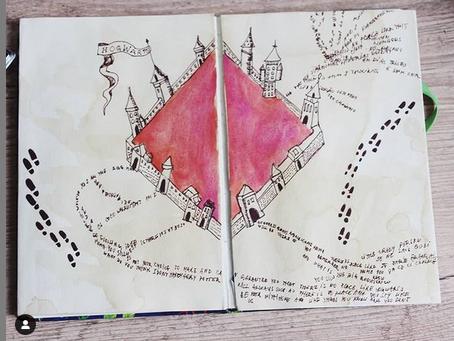 Tema para bullet journal: Harry Potter