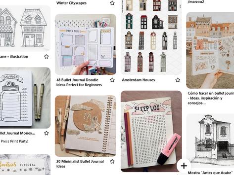 Como usar o Pinterest para inspirar seu bullet journal?