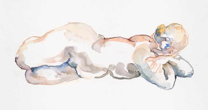 Watercolour,  297 x 420mm