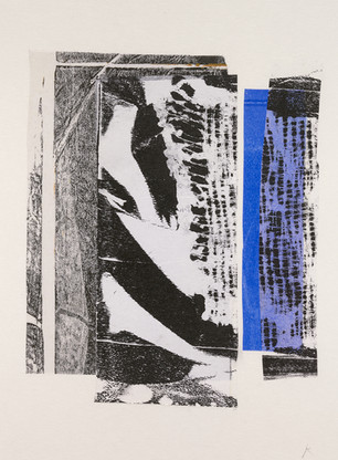 Acrylic collage, 130 x 177mm
