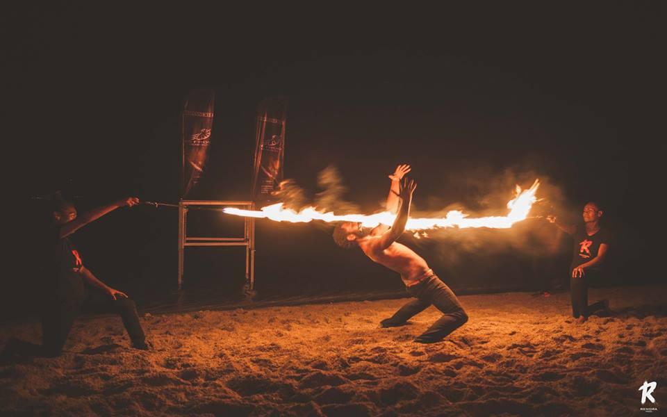 VANUA FIRE SHOW
