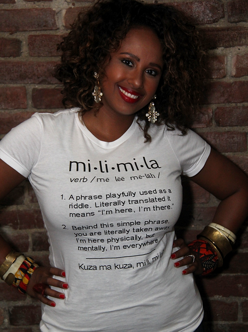Mili Mila Definition T-Shirt