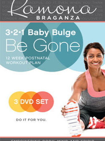 321 Baby Bulge Be Gone – 3 Phase Set DVD
