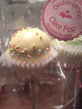 Double Lemon - Cake Pop Bouquet (3ct)