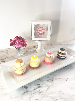 Farmers' Market Mini Cheesecake Collection (4ct)