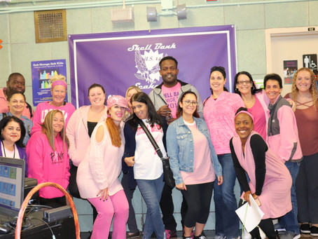 SHELL BANK GOES PINK!