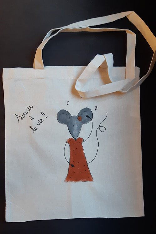 Totebag adulte - Souris