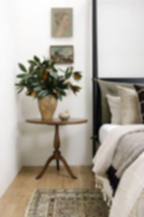 Warm Modern Bedroom