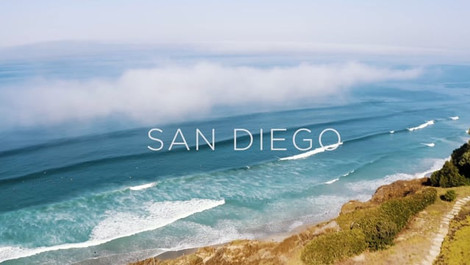 San Diego in 4K