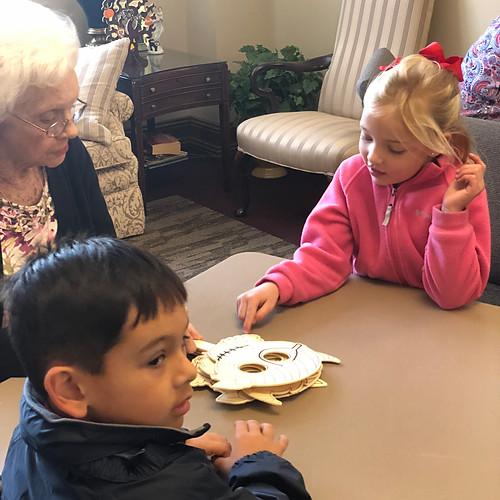 St. Joseph School K5 visits Respite Care