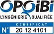 OPQIBI - Logo OPQIBI avec n° 20 12 4101