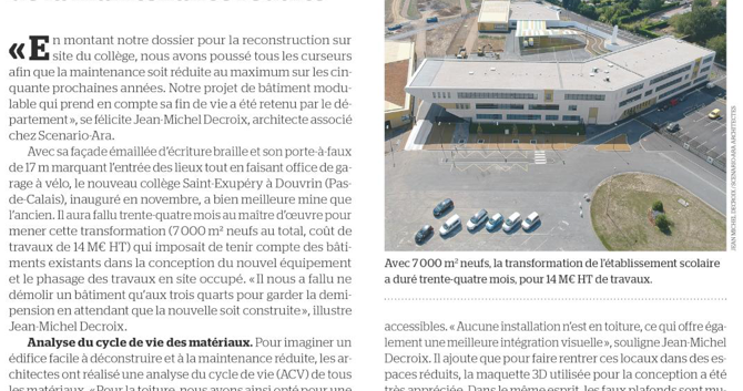 College St Exupéry - Douvrin(62)