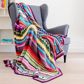 Rainbow Sampler Blanket CAL Kit