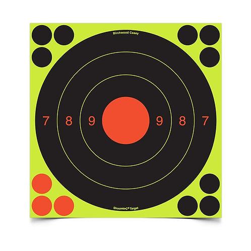 Birchwood casey Shoot•N•C® 20 cm UIT, 6 Targets - 72 Pasters