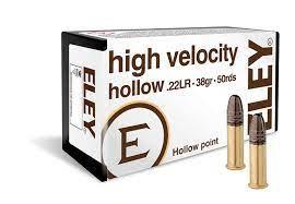 ELEY High Velocity Hollow .22