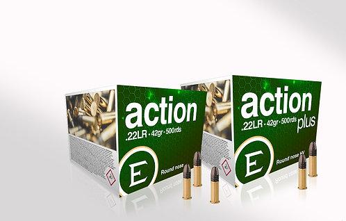 Eley Action PLUS .22 lr 42gr High Velocity x 1000