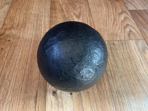 32lb British Cannon Ball - solid shot