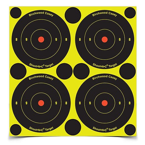 Shoot•N•C® 3 Inch Bull's-Eye, 48 Targets - 120 Pasters