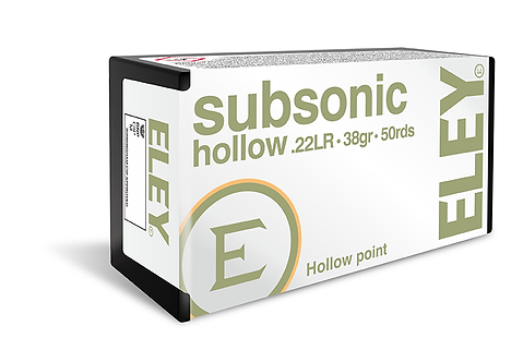 Eley Subsonic .22 lr