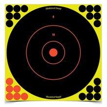 Shoot•N•C® 6 Inch Bull's-Eye, 12 Targets - 144 Pasters