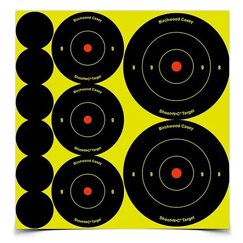 Birchwood Casey Shoot•N•C® Variety Pack, 132 Targets