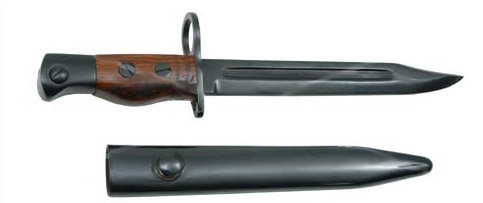 Enfield No5 Bayonet with scabbard