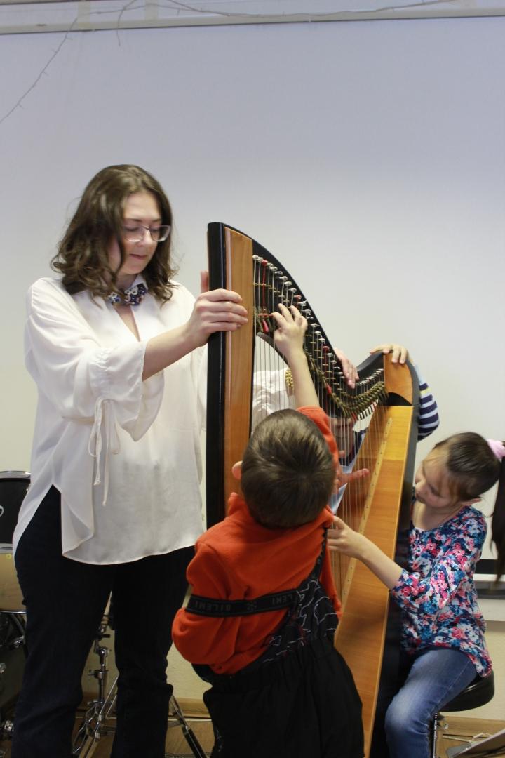 Концерт кельтской арфы (ферваль 2019)