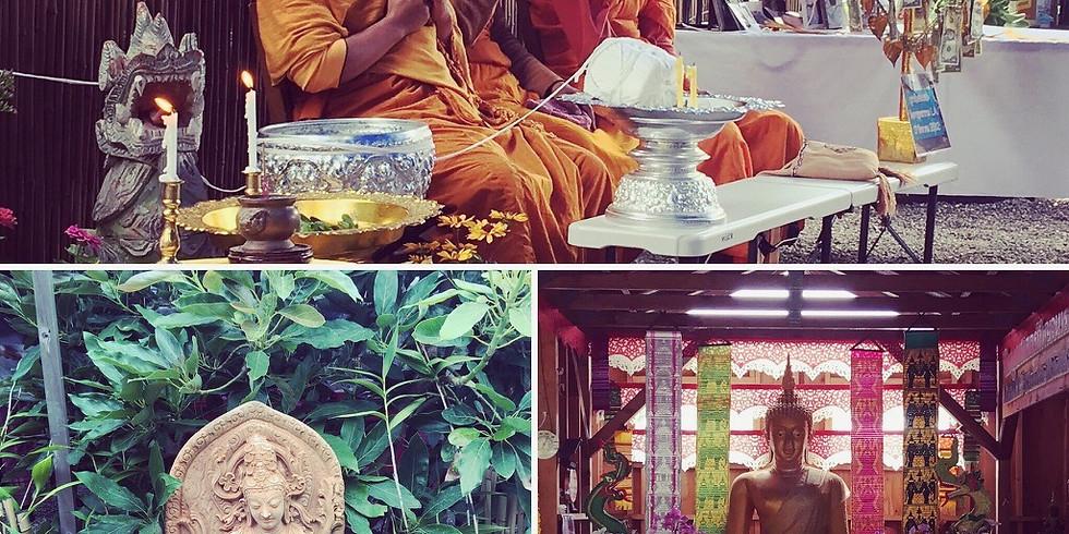 New Moon Dhamma Talk, Meditation & Sound Healing