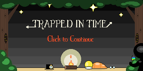 Trapped In Time Title Screen
