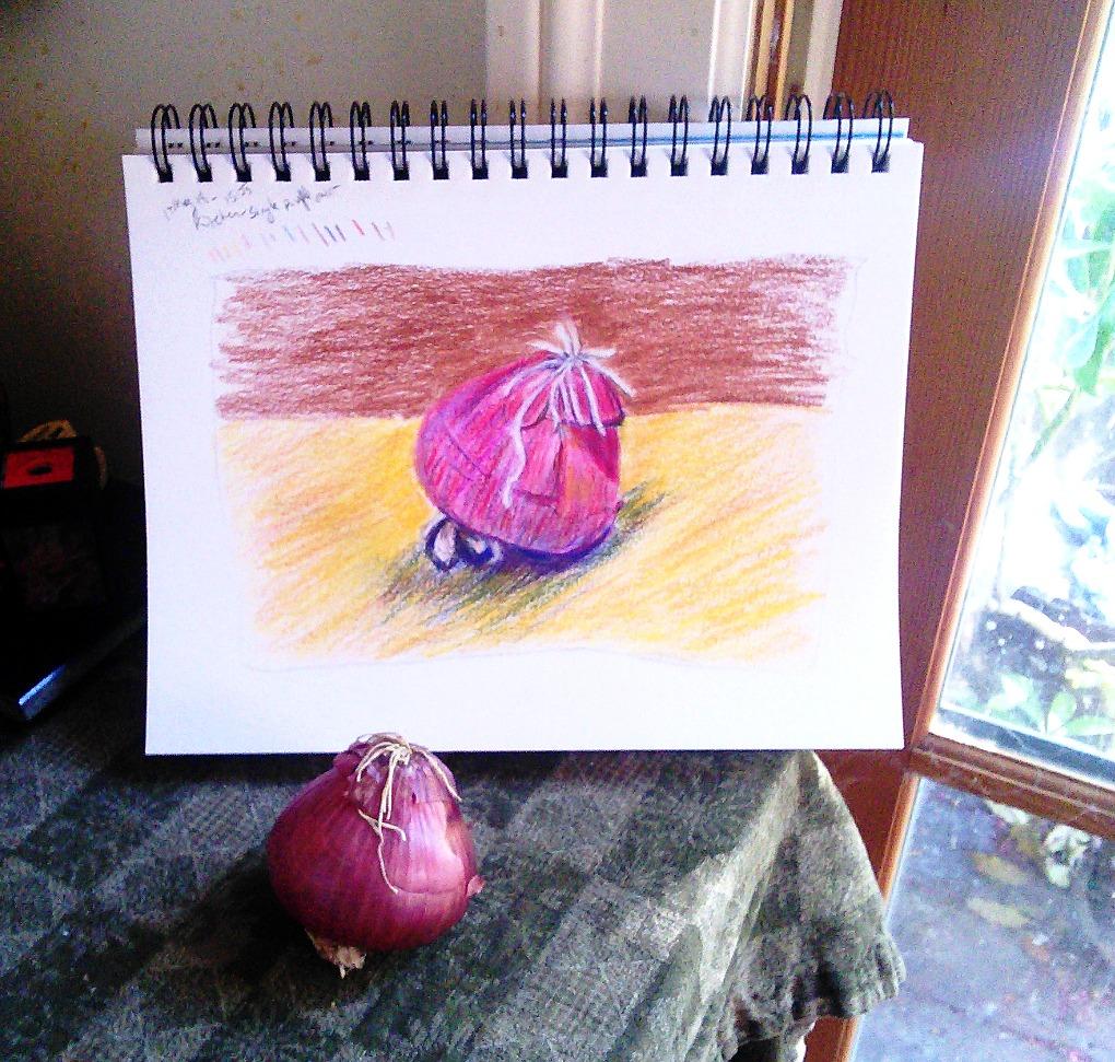 vanity of the onion