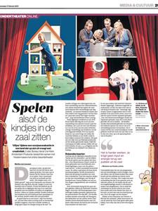 Artikel in Het Algemeen Dagblad