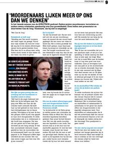 Interview in Panorama Magazine