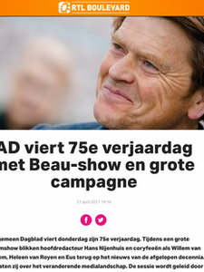 Online artikel RTL Boulevard