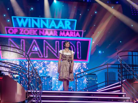 Nandi wint finale Op zoek naar Maria