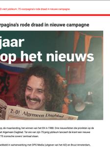 Online artikel op marketingtribune.nl