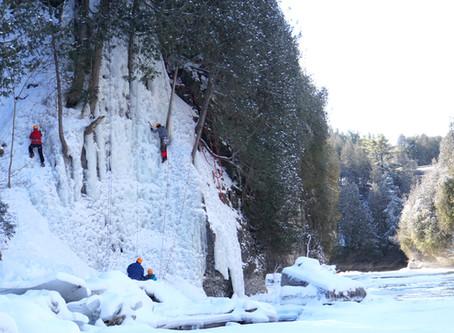 Can you try ice climbing near Toronto, Ontario?
