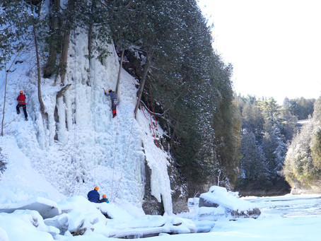 Can you try ice climbing near Toronto, Ontario?
