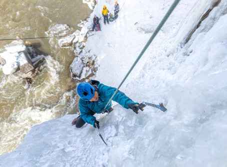 What to wear ice climbing