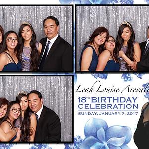 Leah Arevalo's 18th Birthday Celebration