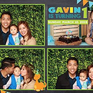 Gavin's 1st Birthday Party