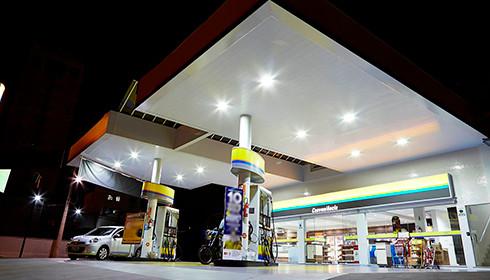 Iluminação Posto de Gasolina