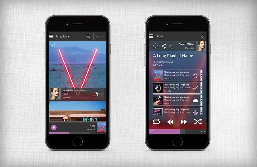 Yonder Music - App Inside