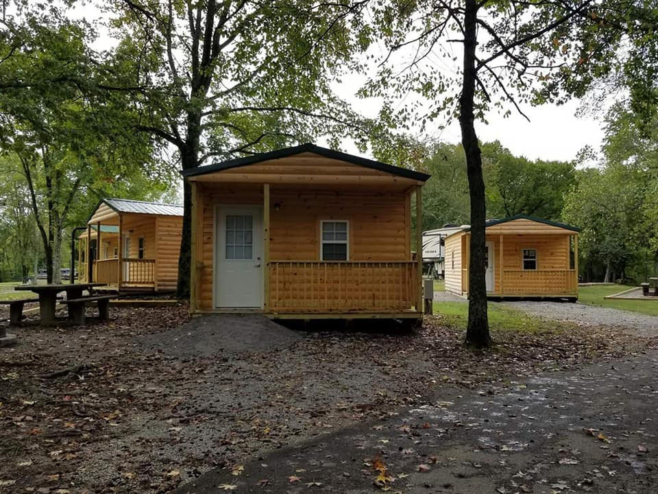 The Tiny Cabins @ Piney Campground