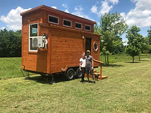 The Nighthorse found a forever home! By Heartland Tiny Homes