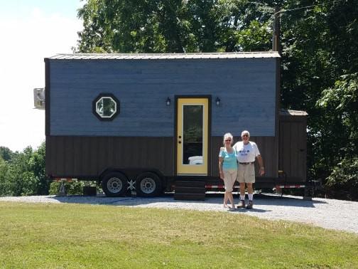 Tiny Tea House has forever home_